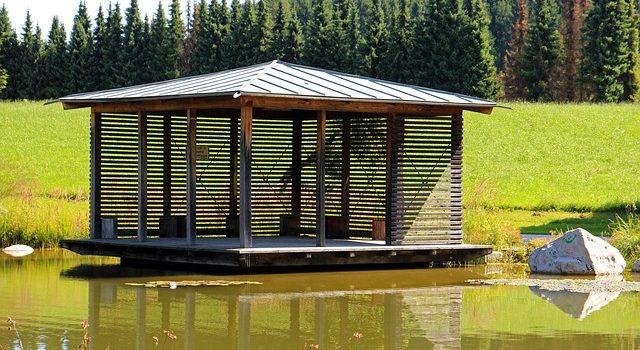 Budowa pawilonu, altanki lub domku ogrodowego